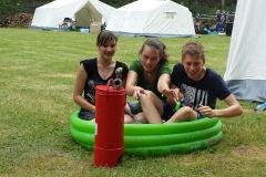 Zeltlager Mini-Poolparty